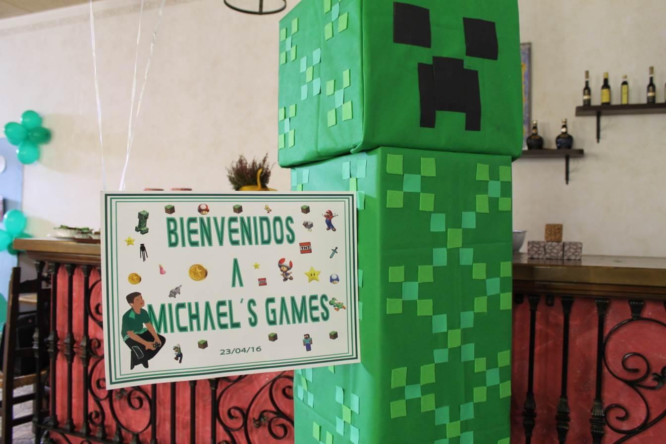 MICHAEL'S GAMES!!! UNA COMUNIÓN ORIGINAL CON MINECRAFT Y MARIO BROSS…